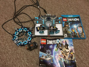 Lego Dimensions Wii U w/ game and parts