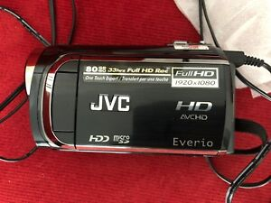 JVC camcorder GZ-HD310, one time used.
