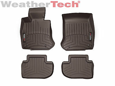 WeatherTech Floor Mats FloorLiner for BMW 6-Series/M6 Gran Coupe - Cocoa