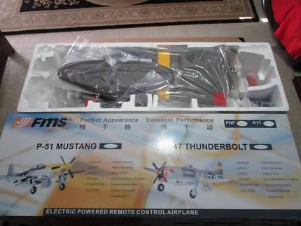 Remote control Plane Electric FMS P 47 Thunderbolt RC Spektrum