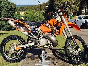 2004 KTM 300 EXC 2 STROKE Caves Beach Lake Macquarie Area Preview
