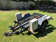 Motor bike trailer, heavy duty Nairne Mount Barker Area Preview