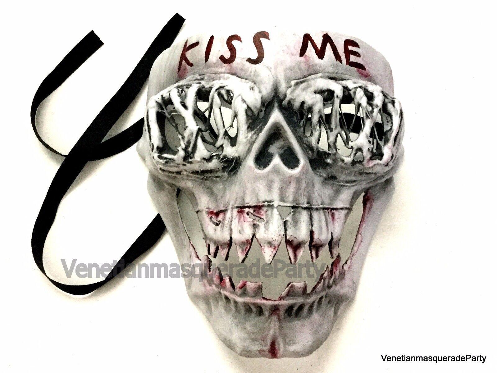 The purge mask Anarchy movie mask horror purge cross Halloween ...