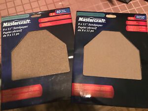 Mastercraft sand paper one pack multi other 60 course