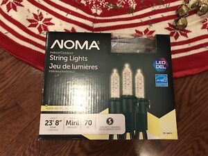Noma Warm White Mini Lights - 6 strands