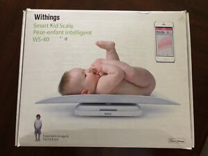 Withings baby toddler scale