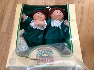 Vintage Cabbage Patch Twins 1985