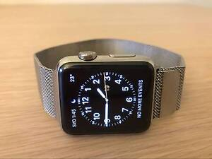Apple Watch 42mm Stainless Steel Case with Milanese Loop Band Rockdale Rockdale Area Preview