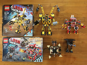 The LEGO Movie 100% complete sets 70814 and 70813