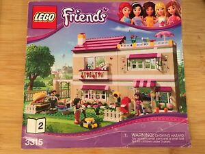 Lego Friends 3315 Olivia's House