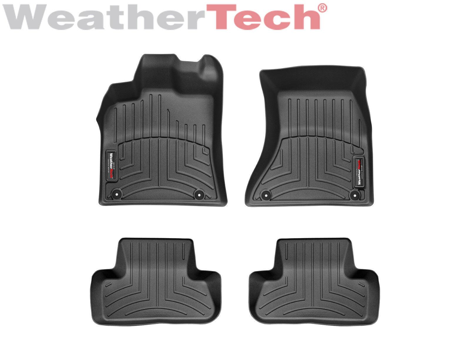 WeatherTech FloorLiner Mats for BMW 7-Series 2016-2019 1st 2nd Row Black