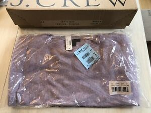 J. Crew - brand new with tags medium tie-waist boatneck sweater