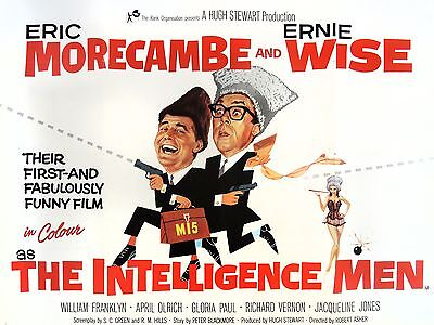 """The intelligence men 16"""" x 12"""" Reproduction Movie Poster Photograph"""