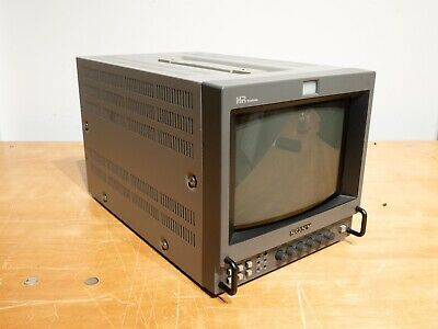 """Sony PVM-8044Q 9"""" Color Video Monitor with Portabrace case"""