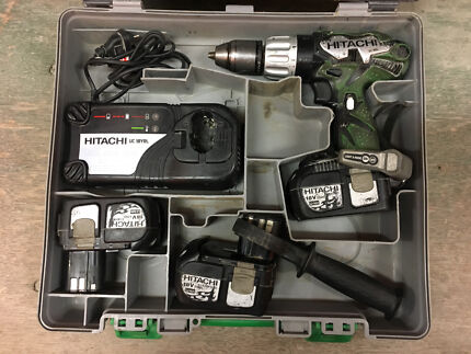 Hitachi 18V Drill Impact driver kit 3ah Battery