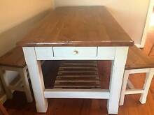 Solid Timber Doining Table with Two Bench Seats Mount Riverview Blue Mountains Preview