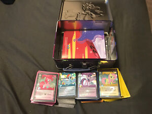 My little pony: trading card game with lunchbox holder.