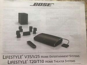 Cinema maison lifestyle V25 de Bose