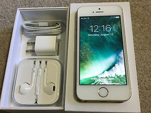 Unlocked Apple iPhone 5S-16GB MINT