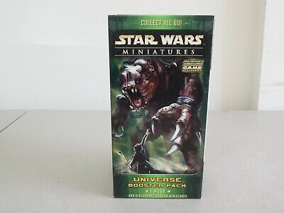 Star Wars Miniatures Universe Booster Pack 1 Huge & 6 Mineatures Factory Sealed Miniatures Huge Pack