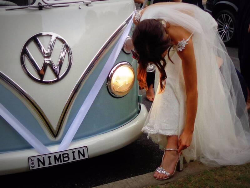 Vw Splitscreen Kombi Wedding Formal Hire Byron Limo