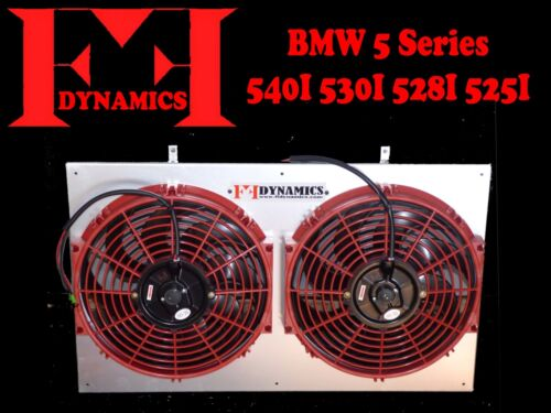 FF DYNAMICS EXTREME ELECTRIC COOLING FAN SYSTEM:BMW 5 SERIES E39 540 530 528 525