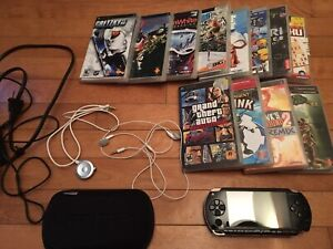 PSP with lots of games for sale!