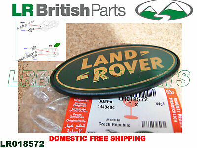 GENUINE LAND ROVER DECAL NAME PLATE TAILGATE LR2 06 -10 NEW LR018572