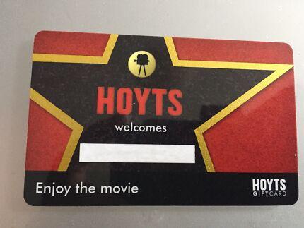 HOYTS GIFT CARD $50.00 value