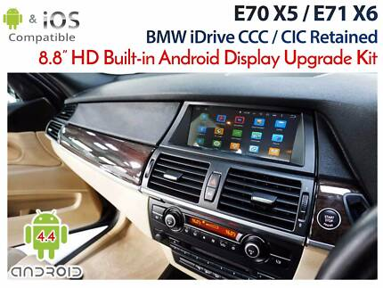"BMW E70 X5 CCC - 8.8"" Android built-in Monitor Upgrade"
