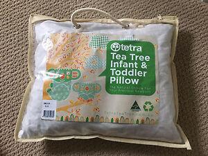 Tetra Tea Tree Infant / Toddler Pillow 36cm x 30cm RRP $35.95 Tamworth Tamworth City Preview