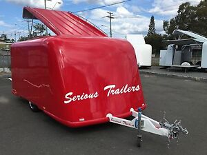 Fiber Glass Trailer - Fully Enclosed - Tradie - Recreational Southport Gold Coast City Preview