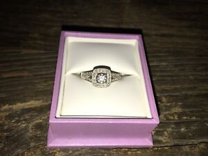 Michael Hill Halo Engagement Ring
