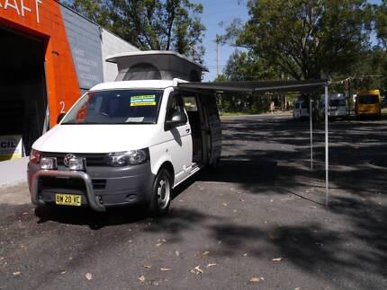 2012 Volkswagen T5 Transporter Campervan LWB West Gosford Gosford Area Preview