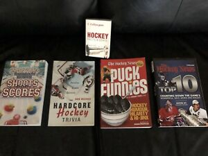 Hockey Facts and Trivia Books