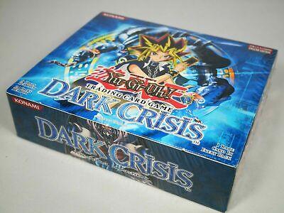 Yugioh Dark Crisis Booster Box DCR Unlimited Factory Sealed 24 Packs Mint Dark Crisis Booster Box
