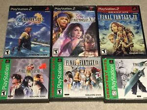 Final Fantasy Collection PS1/2