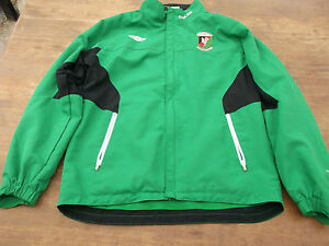 GLENTORAN-FONACAB-ORIGINAL-UMBRO-FOOTBALL-JACKET-SIZE-XL-BOYS-USED
