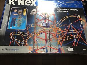 Knex Serpent Spiral Coaster