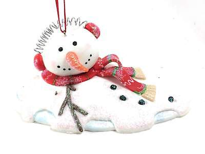 Ear Muffs Melting Snowman Clay Dough 4 Inch by Kurt Adler](Melting Snowman)