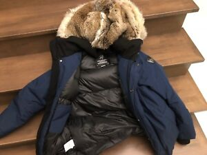 Canadian Wolf Parka
