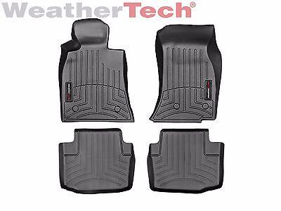 WeatherTech FloorLiner Mats for Cadillac CTS/CTS-V Sedan - 1st/2nd Row - Black