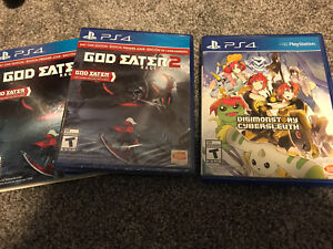 Ps4 games!!! One is unopened