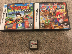 Mario Games and Diddy Kong Racing for Nintendo DS