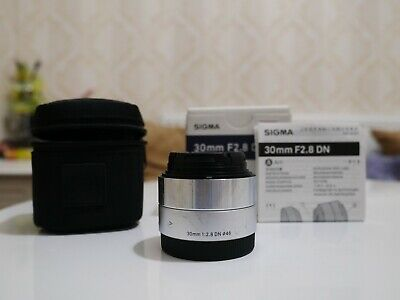Sigma DN Art 30mm f2.8 lens Sony E mount Silver