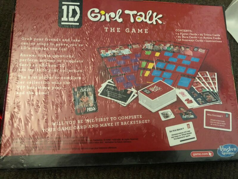 girl talk game questions