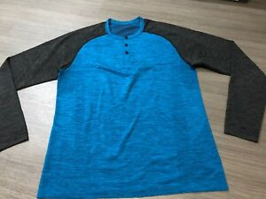 Lululemon Long Sleeve Henley - Size L