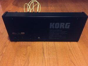 Korg MS 20 synthesizer mint condition