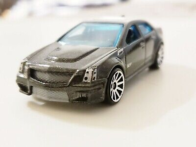 Hot Wheels 2010 New Models Black '09 Cadillac CTS-V #10/44