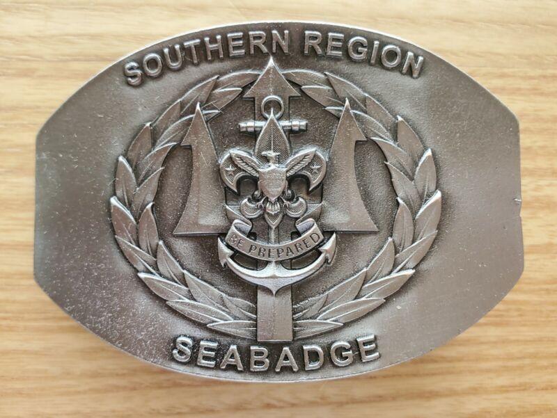 Seabadge Southern Region Belt Buckle, BSA Sea Scout